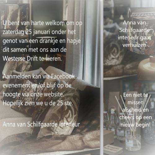 RE Uitnodiging Anna van Schilfgaarde interieur